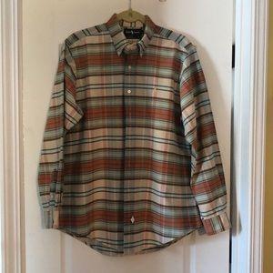Ralph Lauren Button Down Long Sleeves Shirt Size L